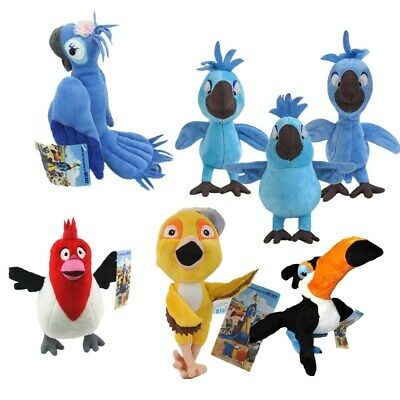 Movie RIO Character Rio Family Jewel Carla Bia Tiago Soft Figure Toys