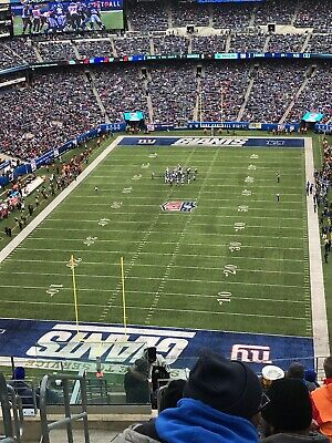 Miami Dolphins at New York Giants Sunday 12/15 1pm with Parking Pass