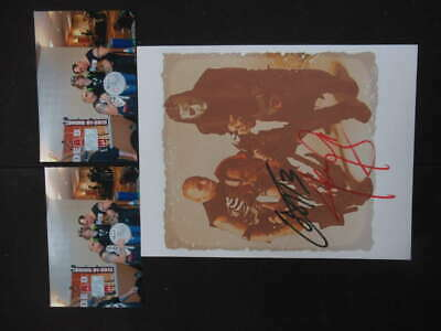 The Misfits Jerry Only And Cupe Signed Auto Autograph 8X10 Photograph Ph646