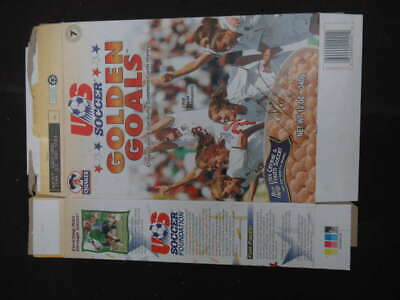 Julie Foudy Signed Auto Autograph Golden Goals Cereal Box Usa Soccer Ph684