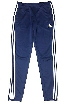 Adidas Climacool Women's Athletic Training Track Pants Navy Blue/White Size M