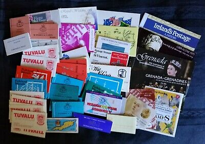 Assorted Countries,Stamp Booklets x 54,Reasonable variety & condition,#2669