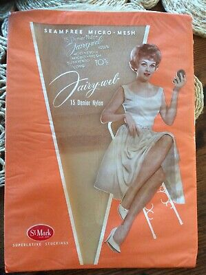 Vintage Seamless Nylon Stockings