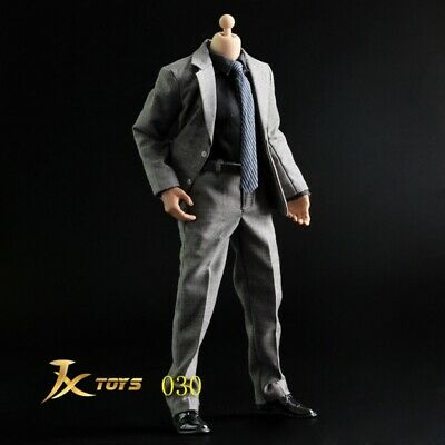 1/6 Male Gentleman suit Full set For Hot Figure Toys body 12'' Collection New