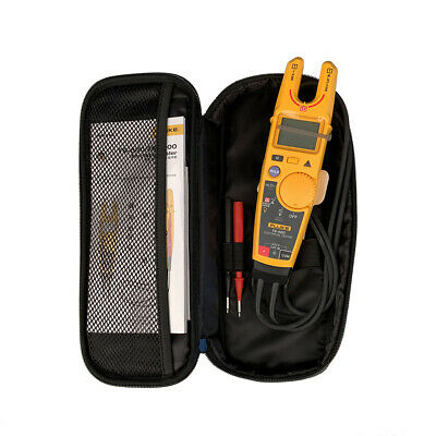 Fluke T6-600 Clamp Continuity Current Electrical Tester Non-contact Voltage&case