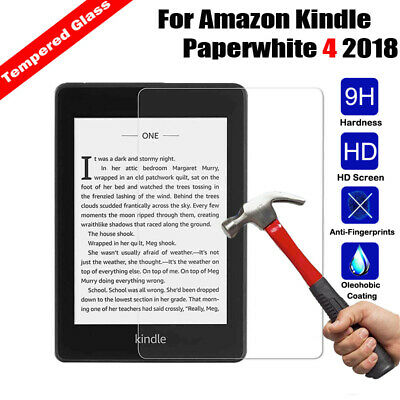 Tempered Glass Screen Protector For Amazon Kindle Paperwhite 4 2018 (10th Genera