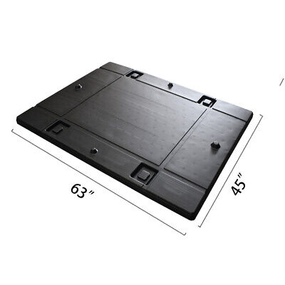 "63"" x 45"" x  1.97""  Plastic Pallet Pack Container Lid"