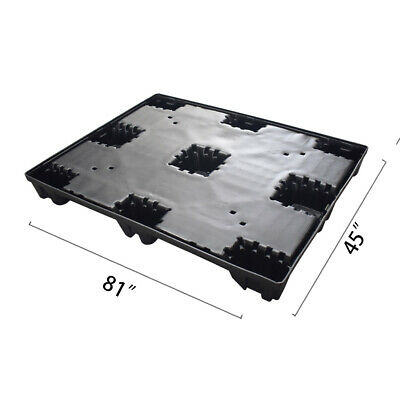 "81"" x 45"" x 5.9"" Plastic Pallet Pack Container Base"