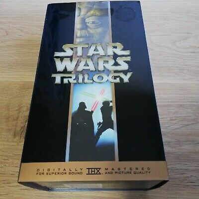 x1 Star Wars Special Edition Trilogy Box Set VHS Empire