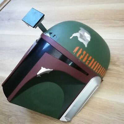 x1 3D FX Deco LED Night Light Star Wars Boba Fett Head Wall Decoration Lights