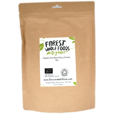 Forest Whole Foods - Organic Raw Black Maca Powder 5kg
