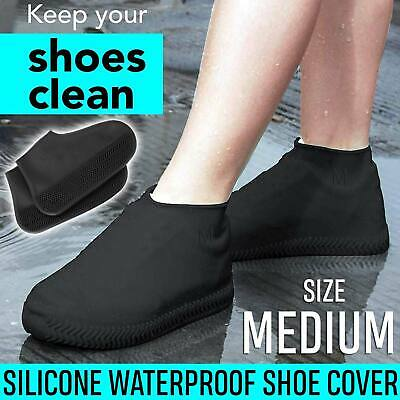 Waterproof Silicone Shoe Cover Rubber Shoes Cover Non-Slip Rain Boots Protector