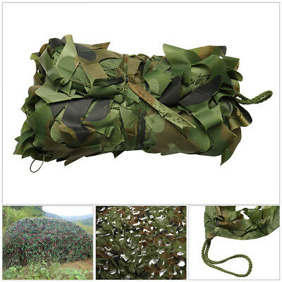 Desert Woodland Shooting Hide Army Camouflage Net Hunting Camo Camping Netting