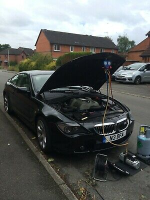 Car Air conditioning Regas Recharge Service new r134a gas, Refill.