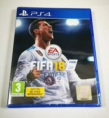 FIFA 18 (PS4) - MINT Condition - BRAND NEW AND SEALED - FREE SHIPPING