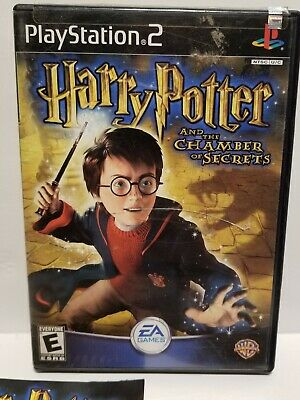 Harry Potter and the Chamber of Secrets (Sony PlayStation 2, 2002)TESTED-WORKING