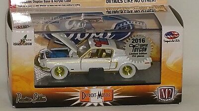 2016 M2 Super Toycon Convention Chase Car 1968 Ford Mustang Gt 302!  1/ 252