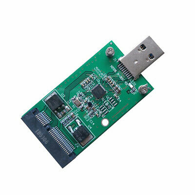 PCI-E mSATA to USB 3.0 SSD Converter Data Transmission Adapter Expansion Card