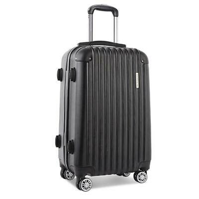 BRAND NEW Wanderlite 28inch Lightweight Hard Suit Case Luggage Black
