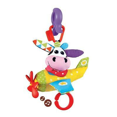 BRAND NEW Yookidoo Tap 'N' Play Musical Plane - Cow