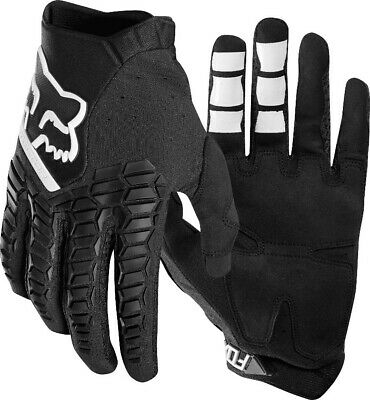 Fox Pawtector Motocross Offroad MX Enduro Race Gloves Black Adults