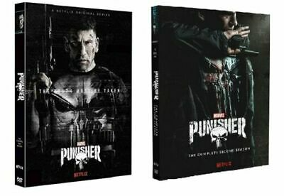 The Punisher Season's 1&2 DVD - Freepost - New and Sealed
