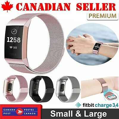 Fitbit Charge Metal Bands for 3 Band unisex Replacement Stainless Steel Watch