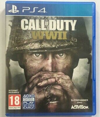 Call Of Duty World War II 2 WWII (PS4) Mint Same Day Dispatch Fast & Free