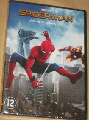 "New Film DVD ""SPIDER-MAN HOMECOMING"" (Holland, Keaton, Tomei) [NEUF SOUS CELLO!]"