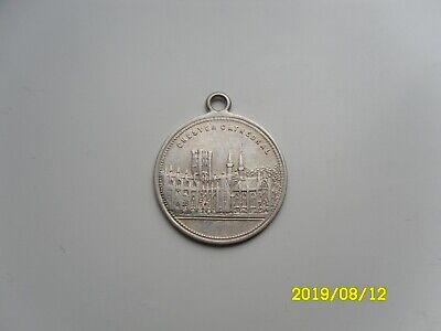 Chester Cathedral Silver Pendant