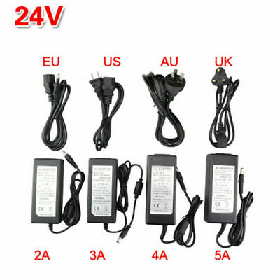 AC110V-DC 5/12/24V Power Supply Adapter for 5050/2812/3528 LED Strip Light 5A/8A