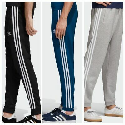 Adidas Men Originals 3 Stripes Trefoil Tracksuit Pants Bottoms Joggors (PP-103)