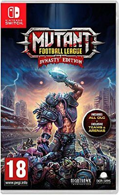 Mutant Football League Dynasty Edition (Nintendo Switch) (New) - (Free Postage)