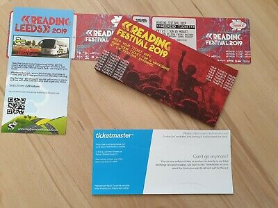 Reading Festival Weekend Ticket 2019 - includes camping