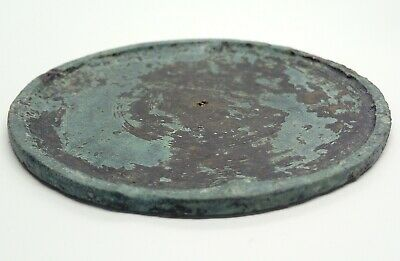Bronze Mirror 70.0mm/38gr. 1200-600BC.  / Scythian / Koan