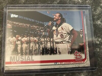 Stan Musial Topps Series 2 SSP