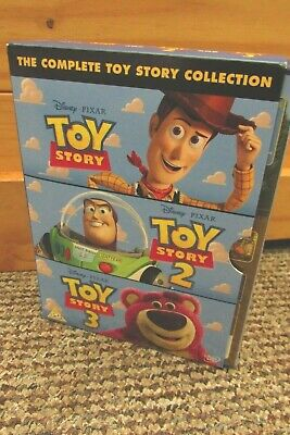 Toy Story 1-3 Dvd's Box Set