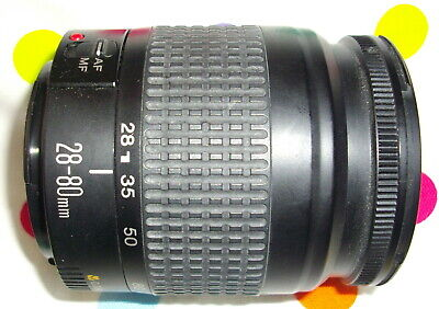 Canon EF 28-80mm f 3.5-5.6 lens will fit most EOS Digital Good condition