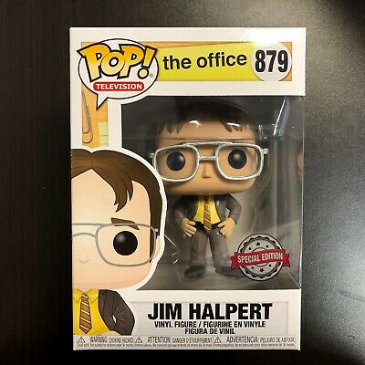 Funko Pop The Office Jim Halpert As Dwight Schrute Exclusive Boxlunch
