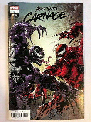 Absolute Carnage #1 Comic - Deodato Party Variant  -  Marvel Cates Venom