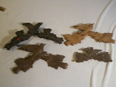Cuckoo Clock Toppers Small 4 Total