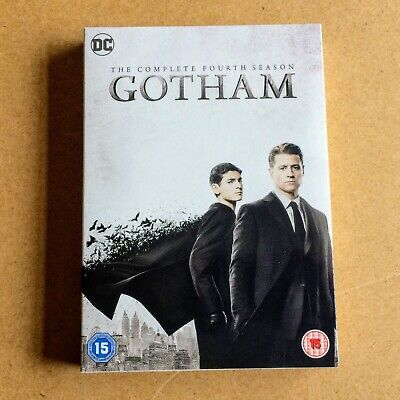 Gotham: The Complete Fourth Season (DVD, 5-Disc Set, Box Set, 2018) Viewed Once.