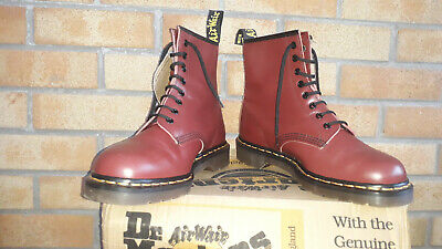 Dr Martens 1460 Z  Cherry Red   Made  In England  Madness  Mod  Ska