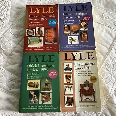 Lot 4 LYLE Official Antiques Review 1998 - 2001 Illustrated Resource Past Sales
