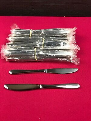 Pack Of 36 Stainless Steel Table Knives As Supplied To The Catering Trade