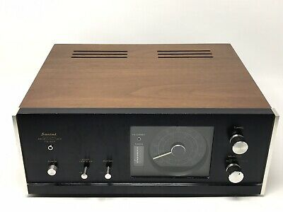 Sansui TU-666 Solid State AM/FM Stereo Tuner - Tested