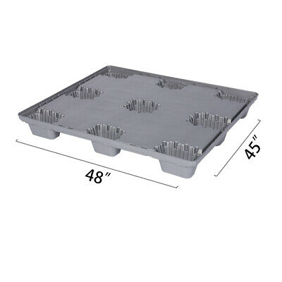 "48"" x 45"" x 5.9"" Plastic Pallet Pack Container Base"