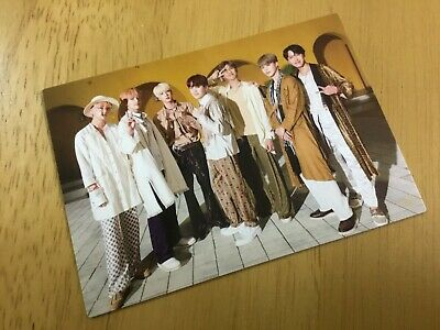 BTS Love Yourself photocard ARMY Fanclub Fan FC Japan Limited Official Rare F/S