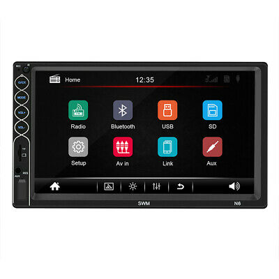 7'' 2Din Touch Screen Car MP5 Player Bluetooth Stereo FM Radio USB/TF