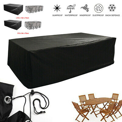 Garden Patio Furniture Set Cover Waterproof Covers Rattan Table Cube Outdoor HOT